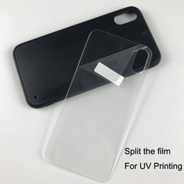 double tape for phone Australia - DIY UV print Rubber tpu phone case for iphone 5 6 7 8 plus XS MAX XR + tempered glass + double side tape