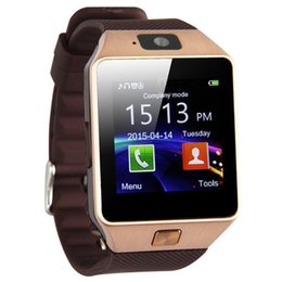 bt smart watch Australia - DZ09 Smart Watch Phone Mobile Phone Internet Touch Screen Positioning BT Camera