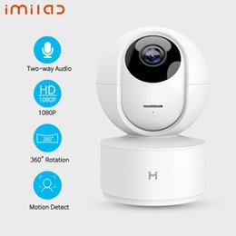 Wholesale Global Version IMILAB IP Camera Night Vision Smart MiHome App 360 degree WiFi Home Security Camera 1080P Baby Monitor for Xiaomi