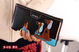 $enCountryForm.capitalKeyWord NZ - Lady's Wallet Cartoon Dog Wallet Ladies fold handbags Short Women's Wallet Large-capacity pocket purse Folding lady's handbag