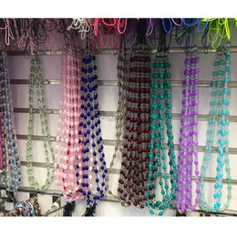$enCountryForm.capitalKeyWord Australia - Colorful Bling Bling Diamond Lanyard Artificial Crystal Neck Necklace Strap Lanyard U Disk Work Card Mobile Cell Phone Chain Straps Keychain