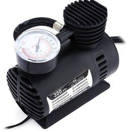 $enCountryForm.capitalKeyWord Australia - DC12V 300PSI Car Tire Inflator Auto Air Compressor Tire Pump with Pressure Gauge for Car Bicycle Ball Rubber Dinghy