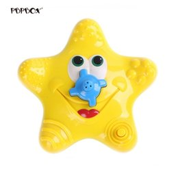 fountain electronics Australia - Baby Bath Toy Sea Star Spraying Fountain Electronic Rotating Water Star Style Bathtime Toy (Yellow)
