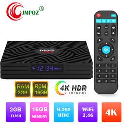 $enCountryForm.capitalKeyWord Australia - 1 PCS M9S W6 Android 7.1 TV Box 2GB 16GB Amlogic S905W Quad Core 100M LAN 2.4G WiFi 4K 1080P H.265 IPTV Smart Media Player Set Top Box