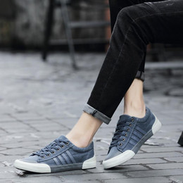 koreans fashion sneakers NZ - Designer spring summer fall 2019 sneakers for men Korean fashion shoes strap casual students retro canvas shoes size 39-44 B101270D