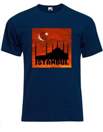 Wholesale Best Destinations In The World Istanbul Turkey Hagia Sophia Mens Tshirt AG22 Classic Quality High Round Style t shirt