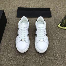 $enCountryForm.capitalKeyWord Australia - Brand 18ss Shoe Cloudbust P Causal Shoe Magic Tie Slip On Spring New White Brown Black Men Shoe 38-44 85622
