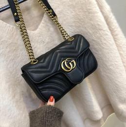 Women designer handbags crossbody messenger shoulder bags chain bag good quality pu leather purses ladies handbag on Sale