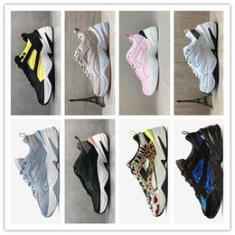 woman shoe mink NZ - Hot selling Women Mens Running Shoes Monarch M2K Tekno Zoom 2K Dad MAHOGANY MINK Olive Classic White Black Orange Designer Trainers Sneakers