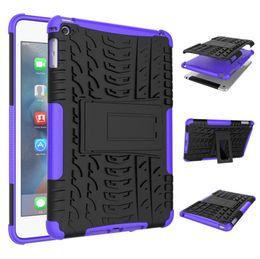 Mini Plastic Australia - For Apple Ipad Mini 2019 Case Hard Plastic TPU Combo Armor Bracket Protective Cover Case For Apple Ipad Mini 2019   Ipad Mini 4
