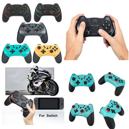 Wholesale Bluetooth Wireless Switch Pro Controller Gamepad Joystick Remote for NDS Console Gamepad Joystick Wireless Controll VS PS4