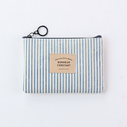 $enCountryForm.capitalKeyWord Australia - fashion Hot Seller Korean Stationery Simple Pen Bag for Male and Female Students Large Volume Canvas Zero Wallet for Cosmetic Bag