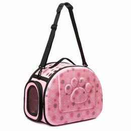 Puppy Bag Carrier NZ - Gomaomi Foldable Pet Dog Carrier Airline Approved Outdoor Travel Puppy Shoulder Bag For Small Dog C19021302