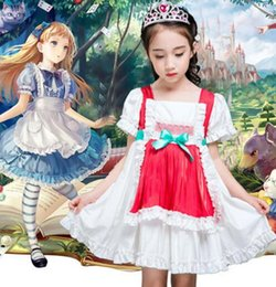 $enCountryForm.capitalKeyWord NZ - 2019 Children Oktoberfest Lovely princess Costumes Halloween Cosplay Costume Girls maid outfit apron Masquerade Servant Dress