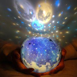 $enCountryForm.capitalKeyWord Australia - LED Night Light Starry Sky Magic Star Moon Planet Projector Lamp Cosmos Universe Luminaria Baby Nursery Light For Birthday Gift