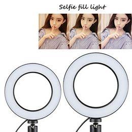 Dimmbare led studio kamera ring 14,5 cm licht foto telefon video licht lampe selfie stick ring tisch füllen licht mobile halter youtube live ins
