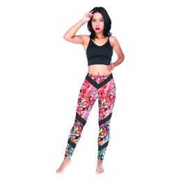 5273e89626efe Woman Leggings Exotic Dots 3D Digital Full Printed Elastic Waist Band Pencil  Pants Lady Workout Jeggings Girls Soft Runner Trousers (Y54590)