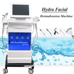 used microdermabrasion machines Australia - Home use microdermabrasion improve skin texture machine hydra facial dermabrasion fade spots oxygen therapy microcurrent lift system