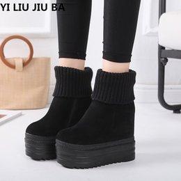 $enCountryForm.capitalKeyWord Australia - women Casual winter warm snow boots shoes women Comfort Round Toe Slip on platform super high heels dress ankle boots women G313