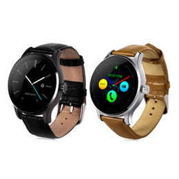 Heart Rate Track Smart Watch Australia - Original K88H Smart Watch Bluetooth 4.0 Wristwatch Track Heart Rate Monitor Camera Music Remote Smartwatch Phone For Android IOS