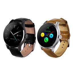 $enCountryForm.capitalKeyWord Australia - Original K88H Smart Watch Bluetooth 4.0 Wristwatch Track Heart Rate Monitor Camera Music Remote Smartwatch Phone For Android IOS