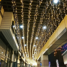 $enCountryForm.capitalKeyWord UK - Led String Lights 4m 13ft Curtain Icicle Droop 0.4m 0.5m 0.6m Fairy Garland For Christmas Wedding New Year Outdoor Decoration