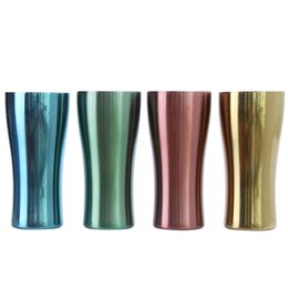 $enCountryForm.capitalKeyWord Australia - Stainless Steel Mug Metal sport cup single layer colorful water Cups Outdoor Camping Drinking Coffee Tea Beer mug 30pcs LJJA2934