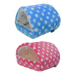 $enCountryForm.capitalKeyWord Australia - Cute Small Animal Cages Pet Rabbit Hamster House Bed Rat Qquirrel Guinea Winter Warm Hanging Cage Hamster Nest