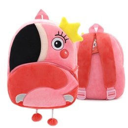 little girls wallets Australia - New cute little stuffed bag adorable girl bag one-shoulder crossbody bag cartoon soft adorable girl kids stuffed cartoon backpack 043