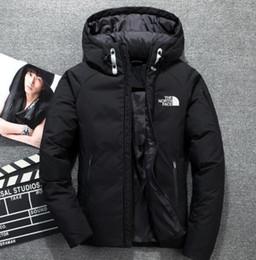 $enCountryForm.capitalKeyWord Australia - Winter men's down hoodie white duck down north jacket parka windproof ski warm jacket outdoor leisure hooded sportswear FACE