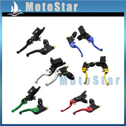 hydraulic brake clutch levers NZ - Hydraulic Brake Master Cylinder Clutch Lever For Dirt Pit Bike XR CRF KLXR SSR CRF50