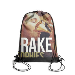 Man Made Diamonds Australia - Drawstring Sports Backpack drake make a couch minecraftpersonalized daily pull string Pull String Backpack