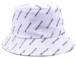 $enCountryForm.capitalKeyWord Australia - Fashion Luxury Designer Leather Bucket Hat For Mens Womens Foldable Fishing Caps Black Fisherman Beach Sun Visor Sale Folding Man Bowler Cap