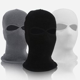 snowboard hats Australia - Winter hats Full Face Mask Thermal Fleece Warmer Cycling Hood Sports Ski Bike Bicycle Snowboard Face Hat Cap skull caps Christmas gifts