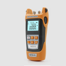 fiber optics cables Australia - Freeshipping Fiber Optic Cable Tester Fiber Optic Visual Fault Locat 2 in 1 15mw 10KM-15KM Light Source Pen One Machine With SC FC Adapter
