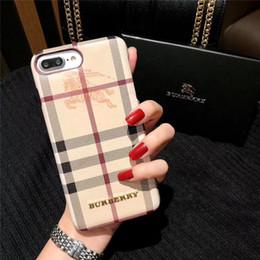 Cas de luxe Designer Phone pour IPhone X XS Max XR 6.1 Haute qualité TPU célèbre impression couverture de la peau arrière pour IPhoneX 8 8plus 7 7plus 6 6s Plus en Solde