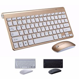 Keyboard For Office NZ - 1 Pc Portable Thin 2.4Ghz Wireless 78-Key Bluetooth Mini Keyboard and Optical Mouse for Home&office&Computer&Tablet& Mobilephone