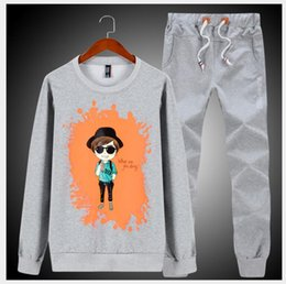 $enCountryForm.capitalKeyWord Australia - Men Tracksuit Outerwear Hoodie Set 2 Pieces Autumn Sporting Track Suit Male Fitness Stand Collar Sweatshirts Jacket + Pants Sets