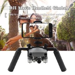 Gimbal Camera Pro Australia - Durable Anti-shake Handheld Gimbal Bracket Set Camera For DJI Mavic Pro As Picture Handle Mount Holder