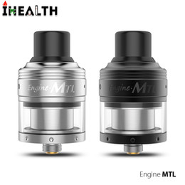 building decks UK - Authentic OBS Engine MTL RTA 2ml Capacity 24mm diameter rebuildable tank atomizer With the two post building deck