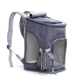 Bags Carry Puppies Australia - Cat Carrying Breathable Pet Carrier Fashion Dog Shoulder Backpack Puppy Outdoor Travel Portable Bag for Pet