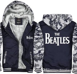 $enCountryForm.capitalKeyWord Australia - US EU Size The Beatles Hoodie Men Winter camouflage Jacket Coat Outwear Thicken Zipper Cashmere Sweatshirt Pullovers Tops