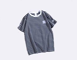 $enCountryForm.capitalKeyWord Australia - A designer mens tshirt champions stripe fashion shirts couple casual luxury tshirts men women brand street sport t-shirt trend new t-shirts