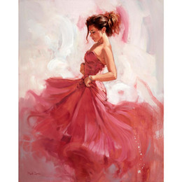 $enCountryForm.capitalKeyWord Australia - Women paintings Carprice hand painted figure painting canvas art High quality