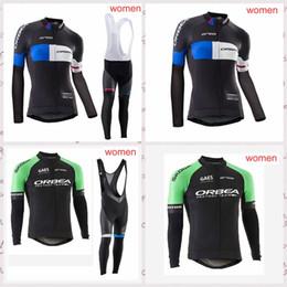 $enCountryForm.capitalKeyWord Australia - ORBEA team Cycling long Sleeves jersey bib pants sets Outdoor mountain bike womens riding sports clothing Q81618