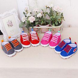 Infant Girls Canvas Shoes Australia - 2019 Newborn Shoes Infant Baby Cartoon Girls Boys Soft Prewalker Casual Flats canvas sneakers Shoes p# dropship