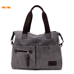 $enCountryForm.capitalKeyWord Canada - Kvky New Arrive Women Messenger Bag Vintage Canvas Handbags Ladies Travel Bag Female Crossbody Shoulder Bag Big Casual Tote