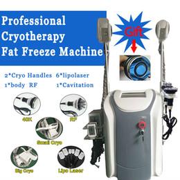 $enCountryForm.capitalKeyWord Australia - 2019 Professional cryolipolysis fat freeze body slimming machine 2 cryo handles cavitation rf lipo laser home salon use