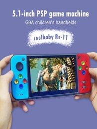 New coolbaby RS-11 RETRO Handheld Game Console Video Gaming Players MP4 MP5 Playback Built-in 200 games TF extension HDMI TVout on Sale
