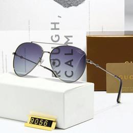 Sun Plastic Coating Australia - Top Quality Unisex Mens and Women Alloy Frame UV400 Polarized Lens Pilot Sunglasses Brand Designers Sun Glasses Des Lunettes De Soleil BOX